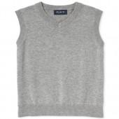 Boys Uniform Sleeveless V-Neck Sweater Vest