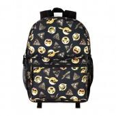 Boys Emoji Print Backpack
