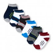 Toddler Boys PLACE Sport Cushioned Ankle Socks 6-Pack