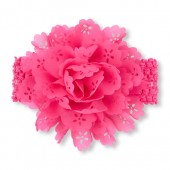 Baby Girls Oversized Cutout Flower Headwrap