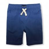 Boys Ombre Woven Jogger Shorts