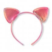 Toddler Girls Iridescent Cat Ears Headband