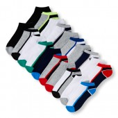 Boys PLACE Sport Mixed Cushioned Ankle Socks 20-Pack