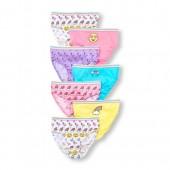 Girls Flamingo Emoji Briefs 7-Pack
