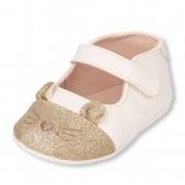 Baby Girls Glitter Cat June Ballet Flat