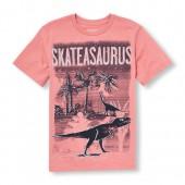 Boys Short Sleeve Skateasaurus Graphic Tee