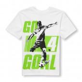 Boys Short Sleeve Go 4 Goal Soccer Graphic Tee