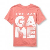 Boys Short Sleeve Ive Got Game Ball Graphic Tee
