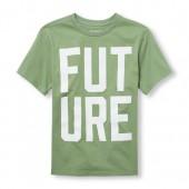 Boys Short Sleeve Future Graphic Tee