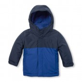 Toddler Boys Solid 3-in-1 Jacket