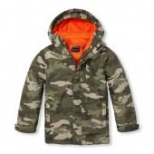Boys Camo 3-In-1 Jacket