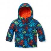 Toddler Boys Printed 3-In-1 Jacket