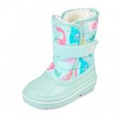 Toddler Girls Dino Print Snow Boot