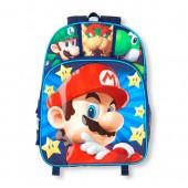 Boys Super Mario Light-Up Stars Backpack