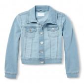 Girls Light Denim Jacket
