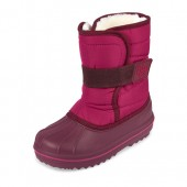 Girls Solid Snow Boot