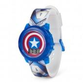 Boys Avengers Captain America Light-Up Digital Watch