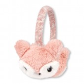 Girls Faux Fur Fox Earmuffs