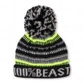 Boys 100% Beast Pom Pom Hat