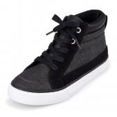 Boys Hi-Top Charlie Sneaker