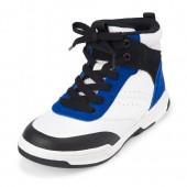 Boys Colorblock Hi-Top Sneakers