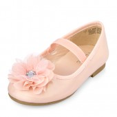Toddler Girls Gemstone Flower Ballet Flat