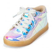 Toddler Girls Holographic Amelie Sneaker