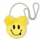 Girls Faux Fur Emoji Bag