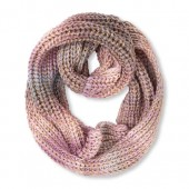Girls Embellished Space-Dye Cable Infinity Scarf