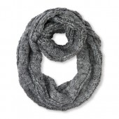 Girls Sparkle Cable Infinity Scarf