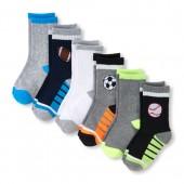 Boys PLACE Sport Icon Crew Socks 6-Pack