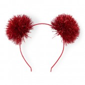 Girls Tassel Pom Pom Ears Headband