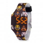 Boys Gamer Emoji Digital Watch