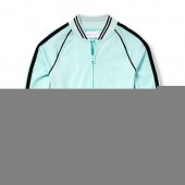 Girls Active Side Stripe Track Jacket