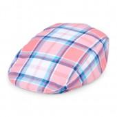 Toddler Boys Plaid Newsboy Hat