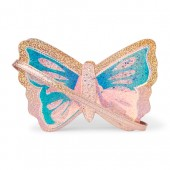 Girls Glitter Butterfly Bag