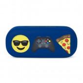 Boys 'Hashtag Weekend' Emoji Sunglasses Case