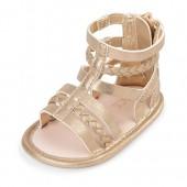 Baby Girls Metallic Gladiator Sandals