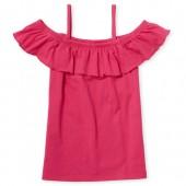 Girls Matchables Short Sleeve Off Shoulder Top