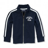 Baby And Toddler Boys Active Full-Zip Track Jacket