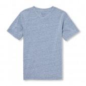 Boys Short Sleeve Snow Jersey V-Neck Top