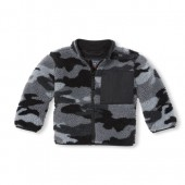 Baby and Toddler Boys Camo Cozy Sherpa Jacket