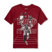 Boys Short Sleeve Bring It On Sports Graphic Tee