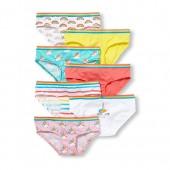 Toddler Girls Days Of The Week Rainbow Unicorn Briefs 7-Pack