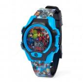 Boys Avengers Light Up Digital Watch