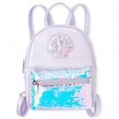 Girls Sea Shell Confetti Shaker Flip Sequin Mini Backpack