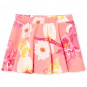 Baby And Toddler Girls Matchables Print Knit Skort