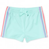 Baby And Toddler Girls Side Stripe Knit Shorts