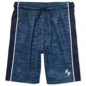 Boys PLACE Sport Side Stripe Marl Basketball Shorts
