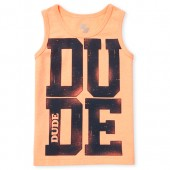 Baby And Toddler Boys PLACE Sport Graphic Tank Top